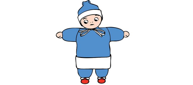 ככה מלבישים תינוקות בחורף. בקוטב הצפוני.